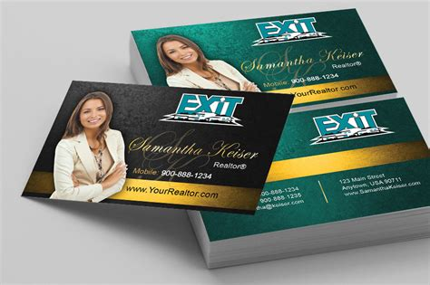 free exit realty real estate business cards template exit realty business cards templates printifycards