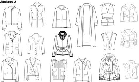 illustrator fashion templates home sketches flats