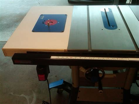 Delta 36 725 Table Saw by Table Saw Router Extension Delta 36 725 By Ericlew