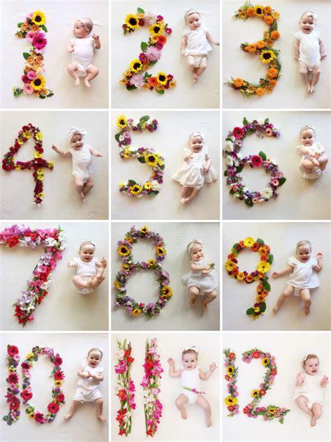 baby bilder ideen creative monthly baby picture ideas child at