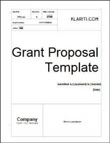 grant template ms office sle template
