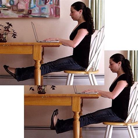desk exercises to strengthen abs thighs and buns