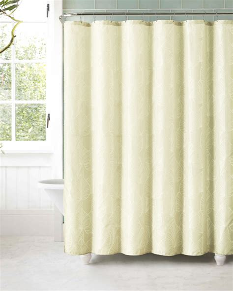 ivory shower curtains ivory jacquard fabric shower curtain bathroom and more