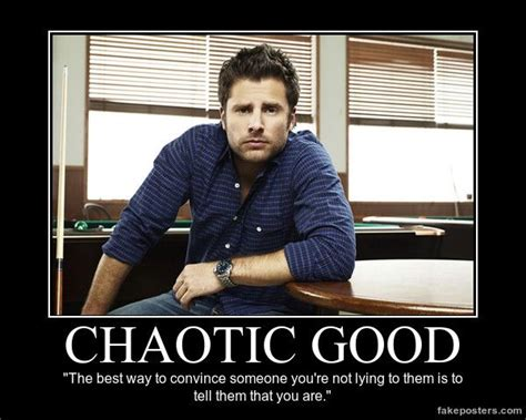 Psych Meme - chaotic good shawn spencer psych no body no crime
