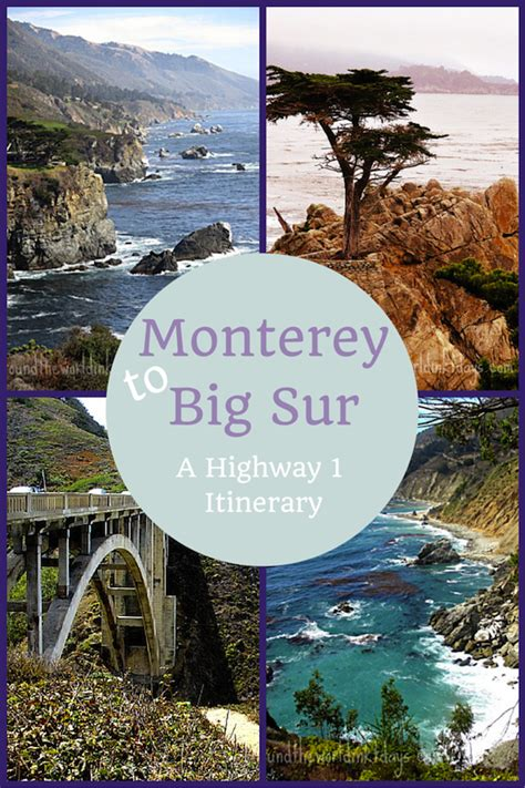 California Coast Mba by Image Gallery Highway 1 Itinerary