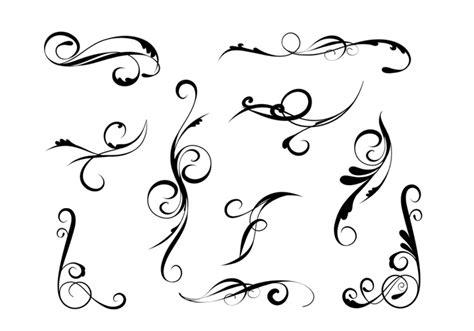 elegant pattern brush photoshop elegant swirl brushes pack free photoshop brushes at