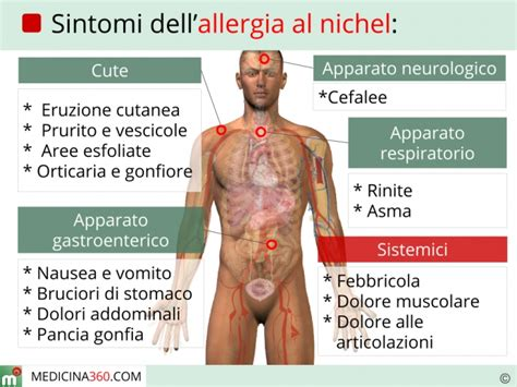 alimenti non contengono nichel allergia al nichel quali precauzioni prendere in cucina