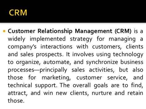 Crm Notes For Mba by Mba Notes Marketing