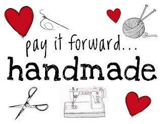 Handcrafted Logo - pay it forward designs