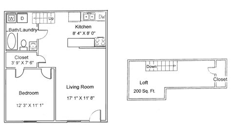 1 Bedroom Garage Apartment Floor Plans Shaker Floor Plans Apartments For Rent In