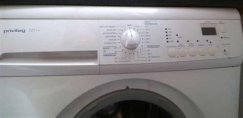 privileg waschmaschine kundendienst bedienungsanleitung f 252 r waschmaschine privileg 32514