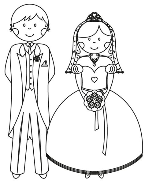 17 Wedding Coloring Pages For Kids Who Love To Dream About Wedding Coloring Pages