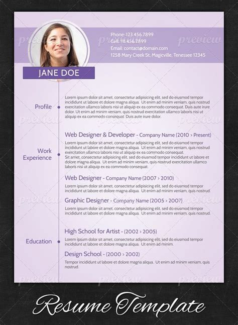 15 modern design resume templates you can use today