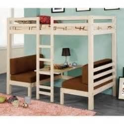 bunk beds couch bottom twin over twin loft bunk bed foter