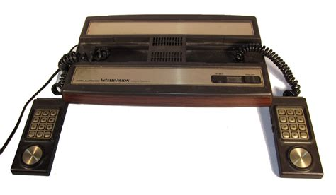 intellivision console mattel electronics intellivision was the serious
