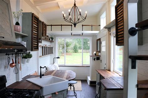 Micro Cottage House Plans tiny house packs farmhouse chic into 240 square feet