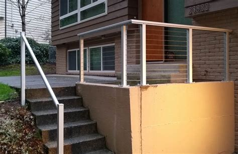 Stainless Steel Deck Railing by Advantage Using Stainless Steel Deck Railing Railing