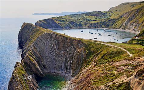 natures best uk nature landscape cliff lake boat coast coves
