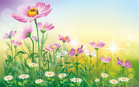 flower garden background flower paintings background wallpaper hd wallpapers13