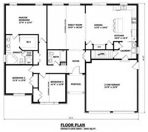 1905 Sq Ft The Barrie House Floor Plan Total Kitchen Floor Plans No Dining Room