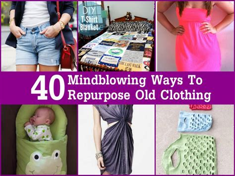 8 Ways To Customise Your Clothes by 40 Mindblowing Ways To Repurpose Clothing