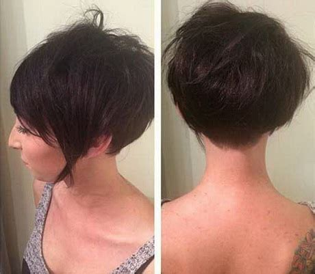 front and back pics og hait cut back of pixie hairstyles