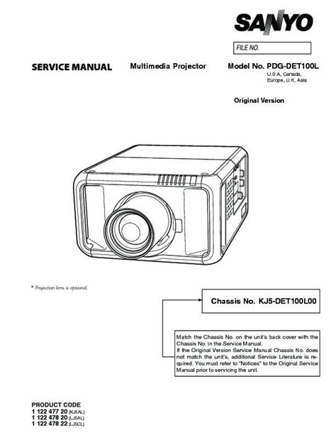 how to reset l timer on panasonic projector tv panasonic pdg det100l service manual view online or