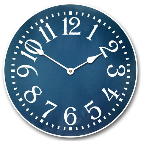 colonial blue clock many sizes to choose from