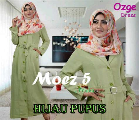 Modern Dress By Friska Po ozge dress by friska hijau p baju muslim gamis modern