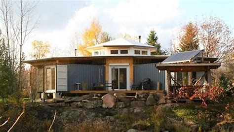 Log Cabin Homes Interior Solar Powered Off Grid Shipping Container Cabin 1