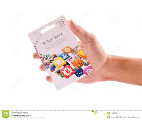 Gift Cards Apps - app store gift card editorial image image 17930235