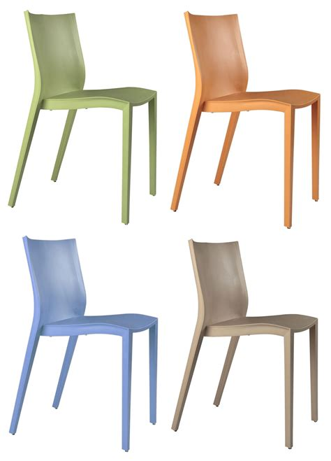 chaise slick slick miniature mini slick slick lot de 4 chaises vert orange