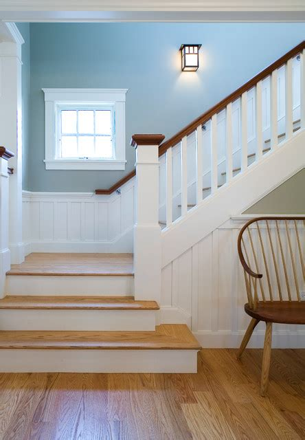 Pictures Of Wainscoting In Dining Rooms by Arts Amp Crafts Bungalow Craftsman Staircase Boston