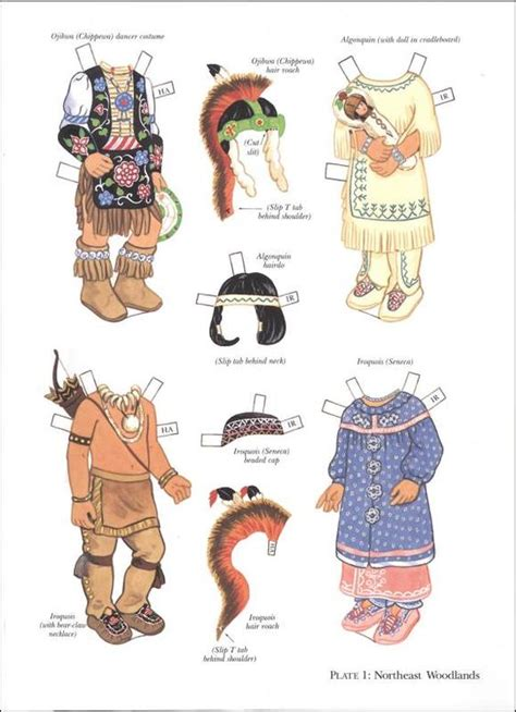 printable indian paper dolls pinterest the world s catalog of ideas