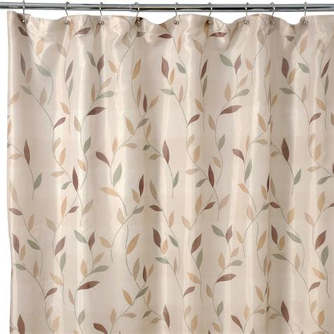 shadow leaves shower curtain famous home shadow leaf shower curtain walmart com