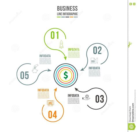 infographic template data visualization can be used for