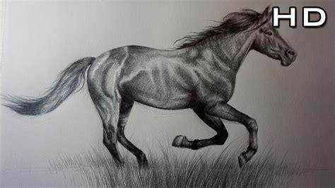 caballo a lapiz dibujos de animales c 243 mo dibujar un caballo realista a l 225 piz paso a paso