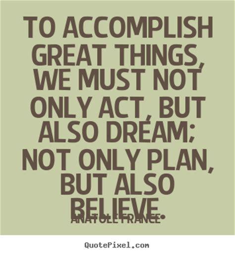 accomplish dreams quotes