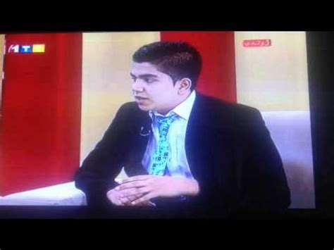 abubaker afghan and ilham mehri in one tv about komak.info