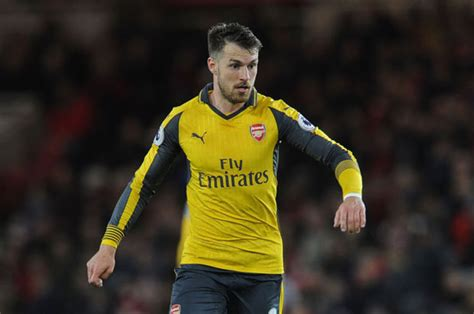 Arron Top 4 arsenal aaron ramsey admits top four fears daily