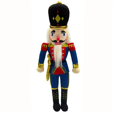 exclusive plush and wood nutcracker dolls