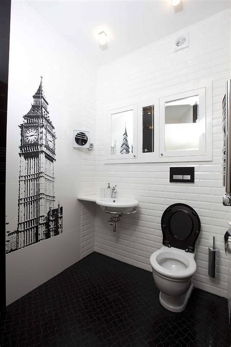 The Rest Room by Always In Trend 20 Powder Rooms In Black And White Best