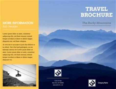 Online Brochure Maker Create Custom Brochures 23 Free Templates Travel Brochure Maker