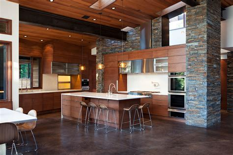 Hanging Lights Over Island In Kitchen Colorado Kitchen Design