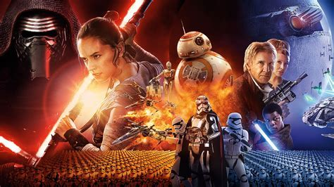 JJ Abrams Star Wars The Force Awakens Wallpapers   HD