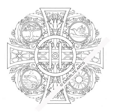 mandala coloring pages christian christian mandala creative craft ideas