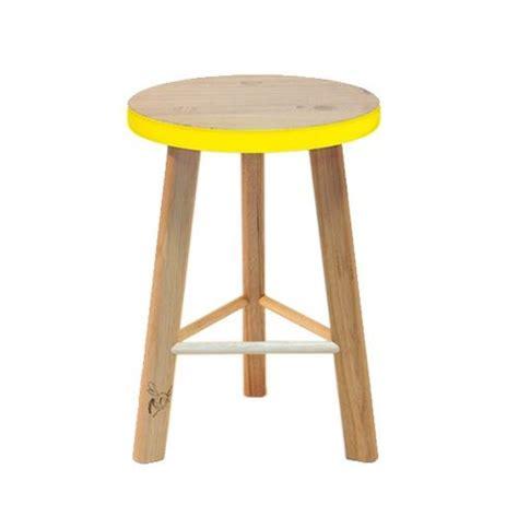 Neon Yellow Stool by Calypso Small Stool Bright Yellow Wedding Gift Registry