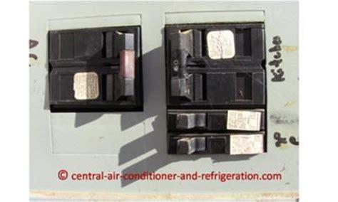 central air conditioner fuse