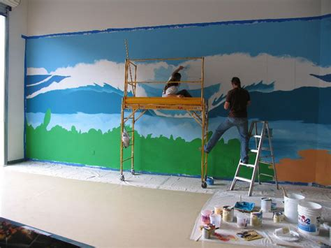 painting murals on walls painting wall murals 2017 grasscloth wallpaper