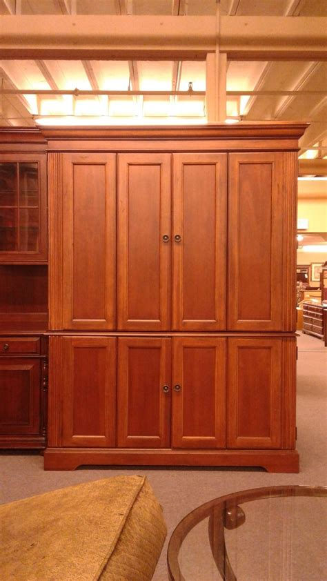 hooker armoire hooker computer armoire delmarva furniture consignment